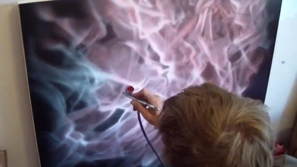 How to paint Real Flames