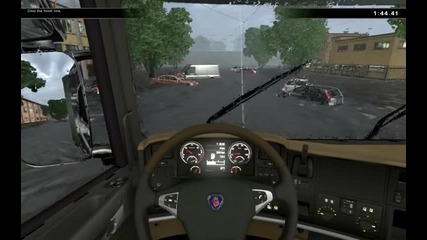 Наводнение vs Скания