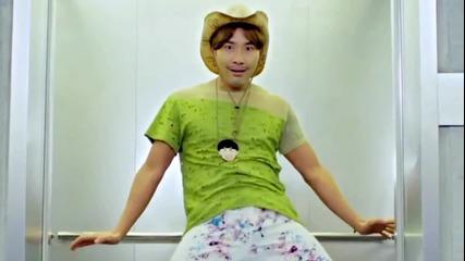 Psy - Gangnam Style (в асансьора)