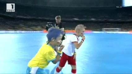 Големият финал Испания - Италия 4-0 Евро 2012 !