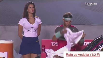 Надал vs Сладуранка на тенис турнирa в Рио 2014,