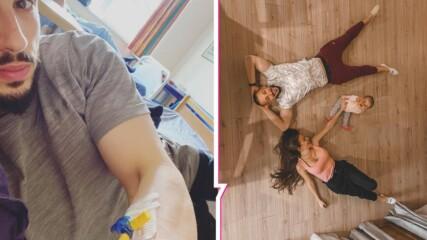 COVID вкара в болница и Наум Шопов! Вирусът не подминал и детето му