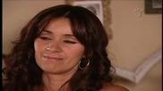 Илда и Албейро мечтаят за детето си а Илда го опреква че е видял Каталина на ревюто й