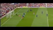 Manchester United 1 - 0 Everton - Гол на Чичарито - 23/4/2011