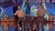За таланта няма възраст, денс група - Britain's Got Talent 2015
