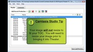 (5.1) Camtasia Studio 5 - Add a Table of Contents Image