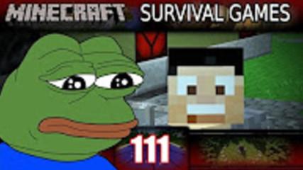 Minecraft - Survival Games - БОЛЕН И СЛАБ... Minecraft PVP