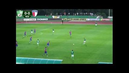 ВИЖТЕ гола на Берое срещу Марек за 1:0