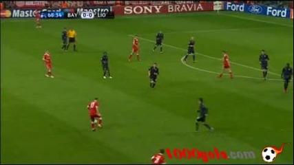 Гениалният Робен поведе Байерн Мюнхен към финал