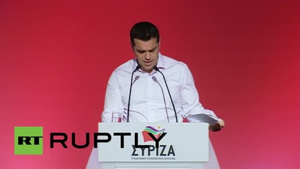 Greece: PM Tsipras defends bailout deal at Syriza committee