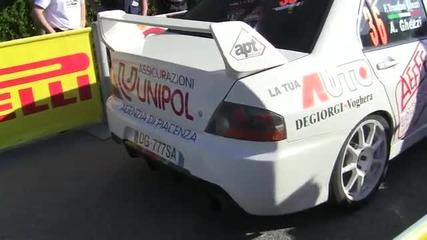 Звук на Mitsubishi Lancer Evo