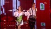 Eurovision 2009 Moldova Nelly Ciobanu - Hora Din Moldova
