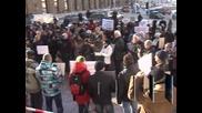 Над 100 души защитиха забраната за тютюнопушенето на обществени места
