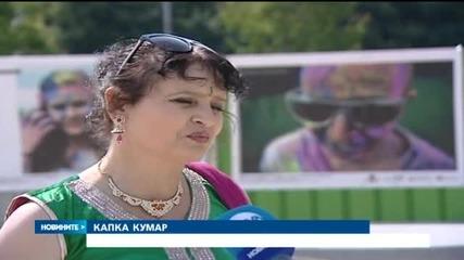 София се готви за фестивал на цветовете