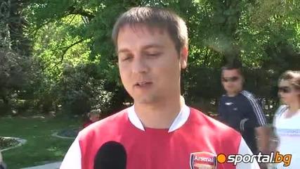 Анкета: Феновете на Цска: К*р за Левски, ще бъдем шампиони