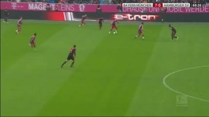 Байерн Мюнхен - Хамбургер 8:0
