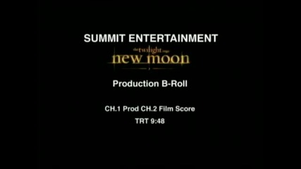 The Twilight Saga New Moon Behind the Scenes Footage