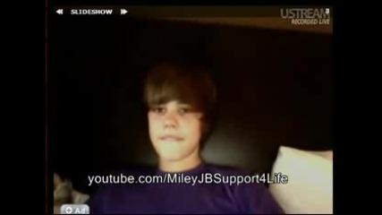 Justin Bieber live chat