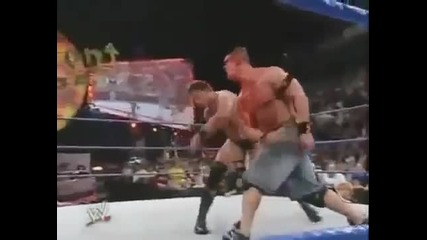 Wwe Judgment Day John Cena Vs Jbl - I Quit Match