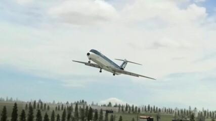 Разследване на самолетни катастрофи | извънредно кацане
