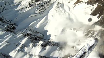 Да караш ски по лавина