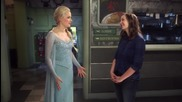 Once Upon a Time Season 4 - Georgina Haig and Elizabeth Lail Interview
