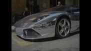 Хромирано Lamborghini Murcielago Lp640