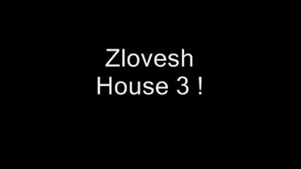 Zlovesh House 3 !