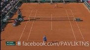 Serena Williams vs Timea Bacsinszky French Open 2015
