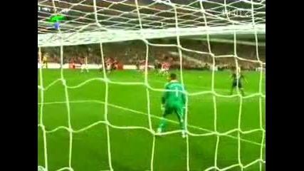 гол на Фран Мерида срещу Ливърпул !!!