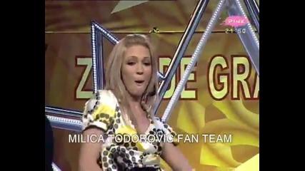 Milica Todorovic - Sms - Narod pita - (TV Pink)