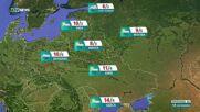 Прогноза за времето на NOVA NEWS (18.10.2021 – 13:00)