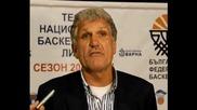 Сашо Везенков: Без конкуренция сме, когато сме концентрирани