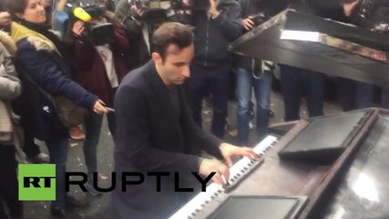 France: Lennon's 'Imagine' played outside Bataclan as Paris mourns