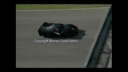 Michael Schumacher с Ферари Fxx прави яростни слънца