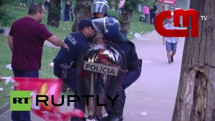 Portugal: Football fan beaten by police in front of his sons and father