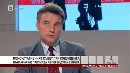 доц. Иво Христов за референдума в Крим