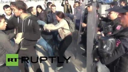 Turkey: Activists clash with police over abandoned body of Kurdish fighter Aziz Guler
