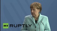 Germany: India and Germany fight terrorism together - Merkel