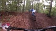 Downhill in Bikepark Nauort Video