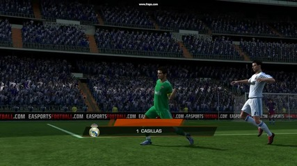 Прекрасен гол на Икер Касияс от над 35 метра ! :)
