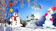 Два,три или повече ... snowmen ...