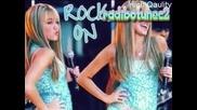 Snimki na Hannah Montana s pesenta na Nicole Schenzinger - Whatever u like! { С лого }