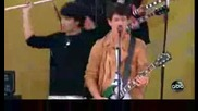 Jonas Brothers - Poison Ivy - Live On (gma) Good Morning America 61209