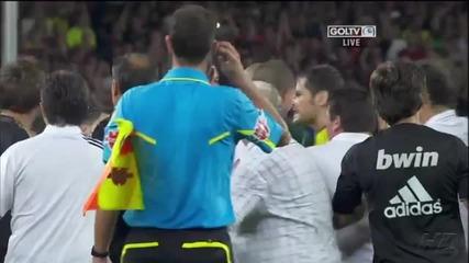 Вижте бруталното влизане на Марсело в краката на Фабрегас?
