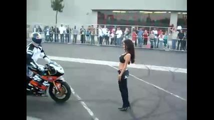 Stunt kiss