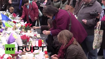 France: Parisians mourn victims of Friday's attack at Republic Square