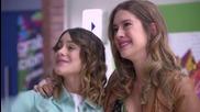 Violetta 2. - Поздрав от Виолета за Анджи , по случай заминаването и.