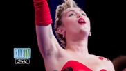 Miley Cyrus Flaunts Armpit Hair