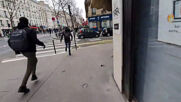 France: Clashes break out between left and right-wing groups at Paris student demo